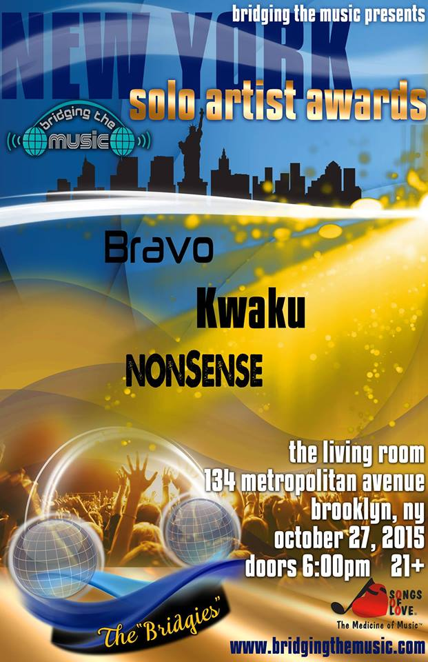 7PM 10PM Bridging The Music Presents NY Solo Artist Awards